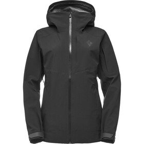 Black Diamond Recon Stretch Shell Regenjas Dames, black